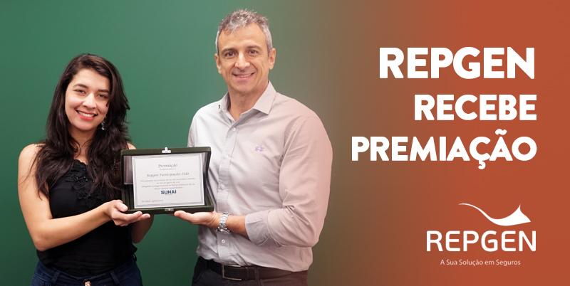 Repgen ganha placa de reconhecimento da Suhai Seguros