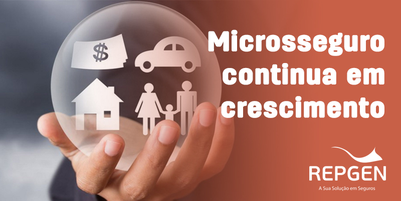 Microsseguro cresceu 2 vezes mais que seguros de danos